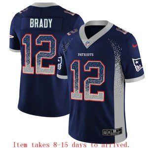 New England Patriots Tom Brady Drift Jersey